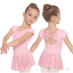 Eurotard Child Impression Mesh Bow Back Dress - You Go Girl Dancewear!