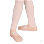 Eurotard Child Passé Full Sole Leather Ballet Shoe, Drawstring Free - pink - You Go Girl Dancewear!