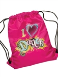 Leo's I Love Dance Sling Bag - E184