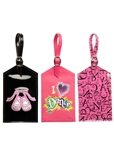 Leo's Ballet, Dance, Sparkle Dance Luggage / Bag Tag