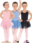 Eurotard Sparkle Camisole Leotard w/ Skirt - You Go Girl Dancewear