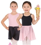 Eurotard Child Mock Wrap Skirt w/ Rosettes - You Go Girl Dancewear