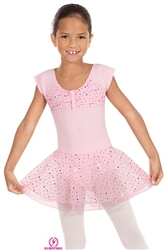 Eurotard Sparkle Cap Sleeve Skirted Leotard - You Go Girl Dancewear