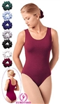 Eurotard Plus Tank Microfiber Leotard - 1002