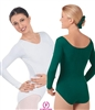 Eurotard Cotton Adult Long Sleeve Leotard