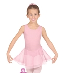 Eurotard Child Tank Leotard with Double Laye69, Skirt