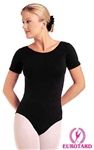 Eurotard Plus Short Sleeve Cotton Leotard - 10475P