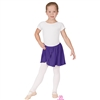 Eurotard Child Polyester Mock Wrap Pull-On Skirt- You Go Girl Dancewear