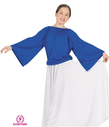 Eurotard Child Unisex Angel Sleeve Top - You Go Girl Dancewear