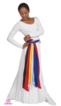 Eurotard Child Polyester Sash - You Go Girl Dancewear