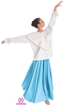 Eurotard Adult Shawl Collar Blouse, S-XL - You Go Girl Dancewear