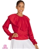 Eurotard Child Shawl Collar Blouse - You Go Girl Dancewear
