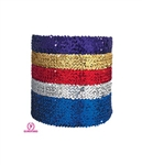 "Eurotard 4"" Wide Sequin Belt, PLUS - You Go Girl Dancewear"