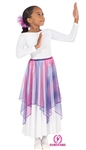 Eurotard Child Sparkle Tulle Single Handkerchief Skirt/Top - You Go Girl Dancewear