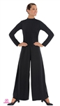 Eurotard Adult High Neck Jumpsuit w/ Zipper Back, 2X-4X - You Go Girl Dancewear