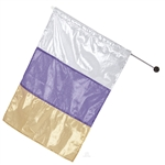 Eurotard Metallic Tricolor Flag - You Go Girl Dancewear