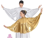 Eurotard Adult Metallic Angel Wing Collar, 2X - You Go Girl Dancewear