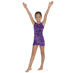 Eurotard Sweet Safari Gymnastics Tank Biketard - You Go Girl Dancewear