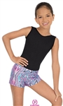 Eurotard Child Kaleidoscope Booty Shorts - You Go Girl Dancewear