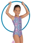 Eurotard Kaleidoscope Child Gymnastics Tank Leotard - You Go Girl Dancewear