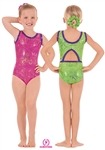 Eurotard Child Metallic Splatter Gymnastics Tank Leotard - You Go Girl Dancewear