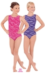 Eurotard Sequin Waves Child Gymnastics Tank Leotard - You Go Girl Dancewear