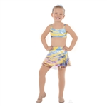 Eurotard Child Water Color Skort - You Go Girl Dancewear