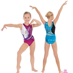 Eurotard Child Peacock Gymnastics Tank Leotard - You Go Girl Dancewear