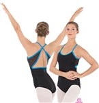 Eurotard Kristi Leotard with Dancer Logo - You Go Girl Dancewear