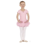 Eurotard Tutu Cute Butterfly Short Sleeve Leotard with Skirt - You Go Girl Dancewear