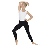 Eurotard Adult Unisex Microfiber Ankle Leggings - You Go Girl Dancewear