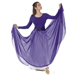 Eurotard Adult Full Overlay Skirt - You Go Girl Dancewear
