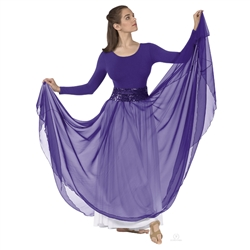 Eurotard Plus Size Full Overlay Skirt - You Go Girl Dancewear
