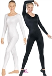 Eurotard Adult Microfiber Long Sleeve Unitard - 44129