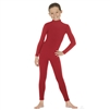 Eurotard Child Long Sleeve Mock Neck Dance Unitard