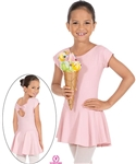Eurotard Angelica Cap Sleeve Bow Back Skirted Leotard - You Go Girl Dancewear