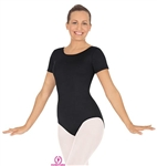 Eurotard Plus Microfiber Short Sleeve Leotard - 44475P