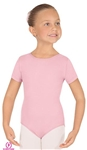 Eurotard Child MicroValue Short Sleeve Leotard - You Go Girl Dancewear