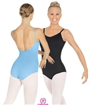 "Eurotard Adult Pinch Front and ""V"" Back Camisole Leotard - 44527"