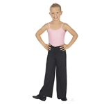 "Eurotard Child Microfiber ""V"" Front Jazz Pants - You Go Girl Dancewear"