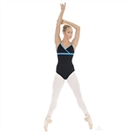Eurotard Kiley Cross Front Adjustable Strap Leotard - You Go Girl Dancewear