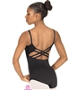 Eurotard Adult MicroValue Trestle Back Cami Leotard - You Go Girl Dancewear