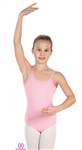 Eurotard Child MicroValue Camisole Leotard w/ Adj Straps - You Go Girl Dancewear