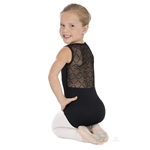 Eurotard Child Diamond Mesh Pinch Front Tank Leotard - You Go Girl Dancewear