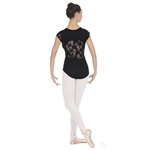 Eurotard Adult Cap Sleeve Lace Back Leotard - You Go Girl Dancewear