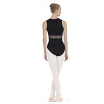 "Eurotard Adult Diamond Mesh ""V"" Front Leotard - You Go Girl Dancewear"