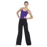 Eurotard Adult Cotton Wide Leg Pants - You Go Girl Dancewear