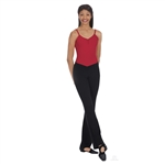 "Eurotard Adult Cotton Low Rise ""V"" Front Jazz Pants - You Go Girl Dancewear"