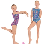 Eurotard Child Under The Sea Gymnastics Tank Leo - You Go Girl Dancewear