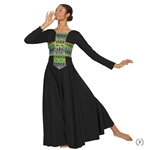 Eurotard Adult Joyful Praise Dress, 2X-3X - You Go Girl Dancewear